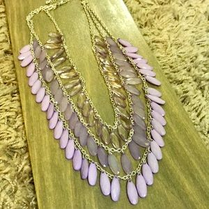 💜 Layered Statement Necklace